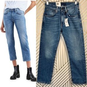Levi's Made & Crafted Slim Cropped Straight Jeans